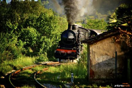 Treno a vapore 06